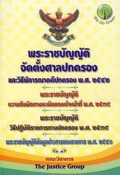 พระราชบัญญัติจัดตั้งศาลปกครองและวิธีพิจารณาคดีปกครอง พุทธศักราช 2542 พระราชบัญญัติความรับผิดทางละเมิดของเจ้าหน้าที่ พ.ศ.2539...